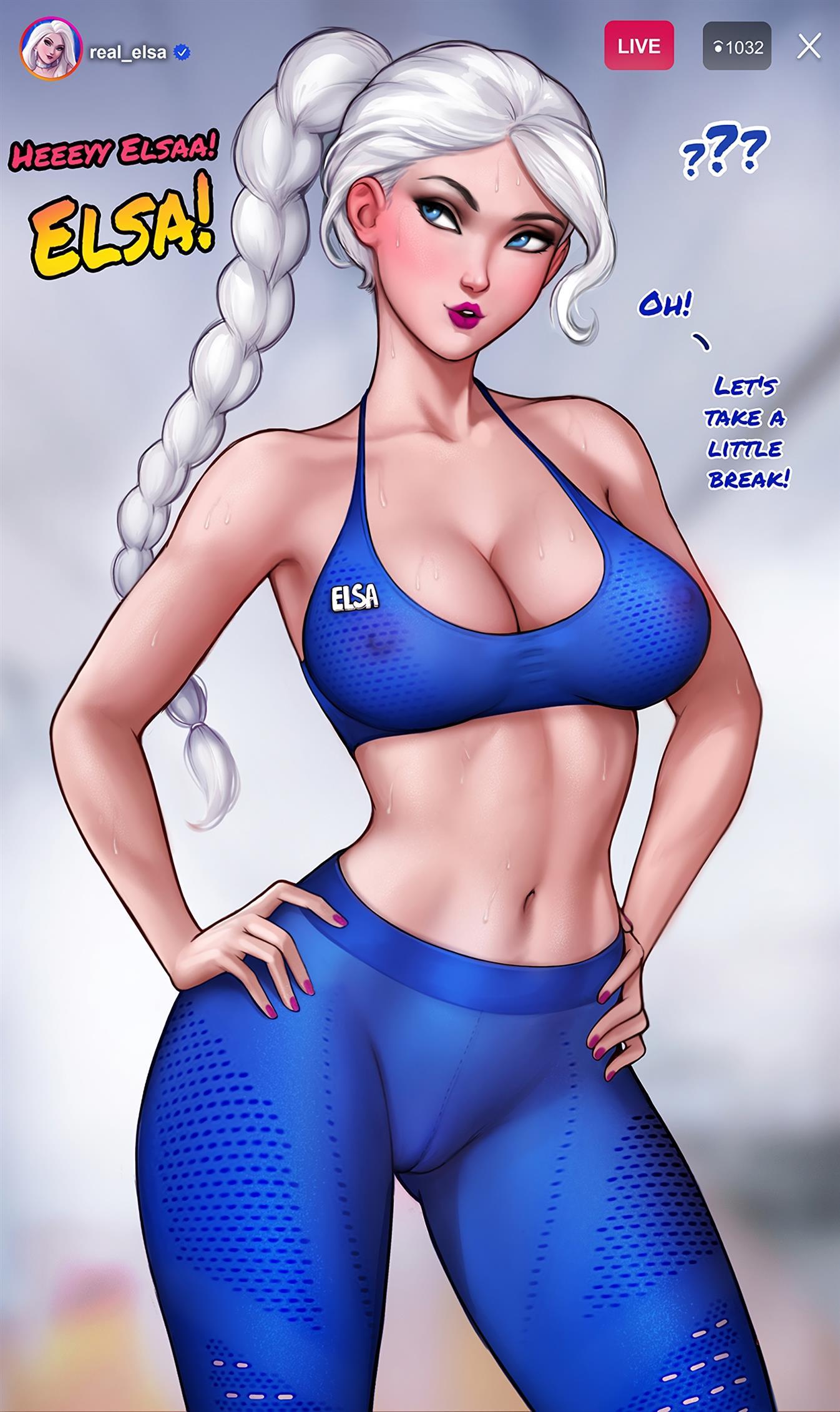 How to train your ass with Elsa (Frozen) [Aroma Sensei
