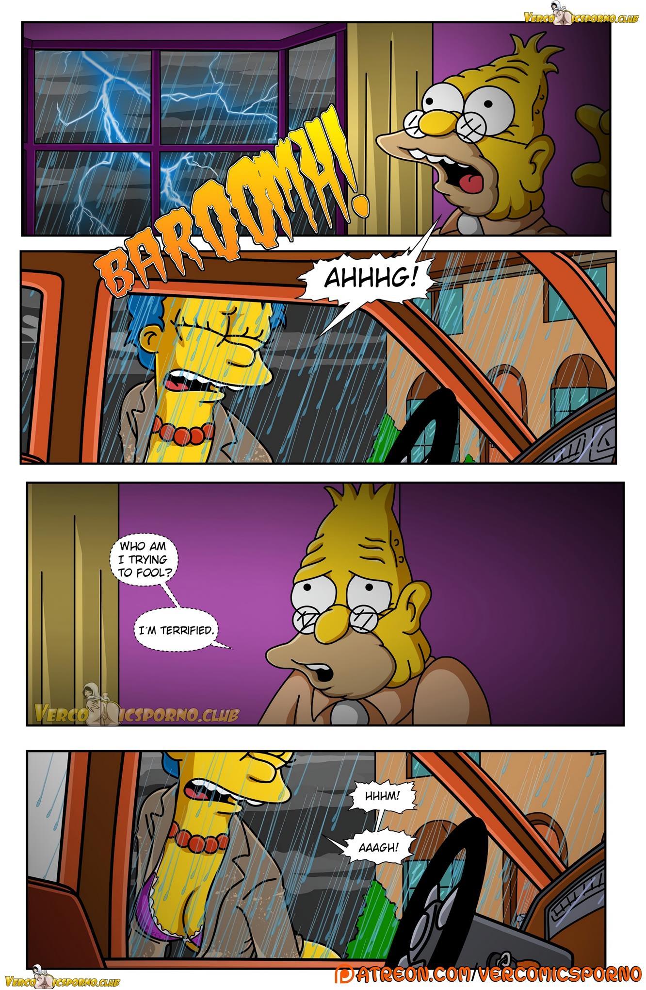 Porn comic simpson The Simpsons