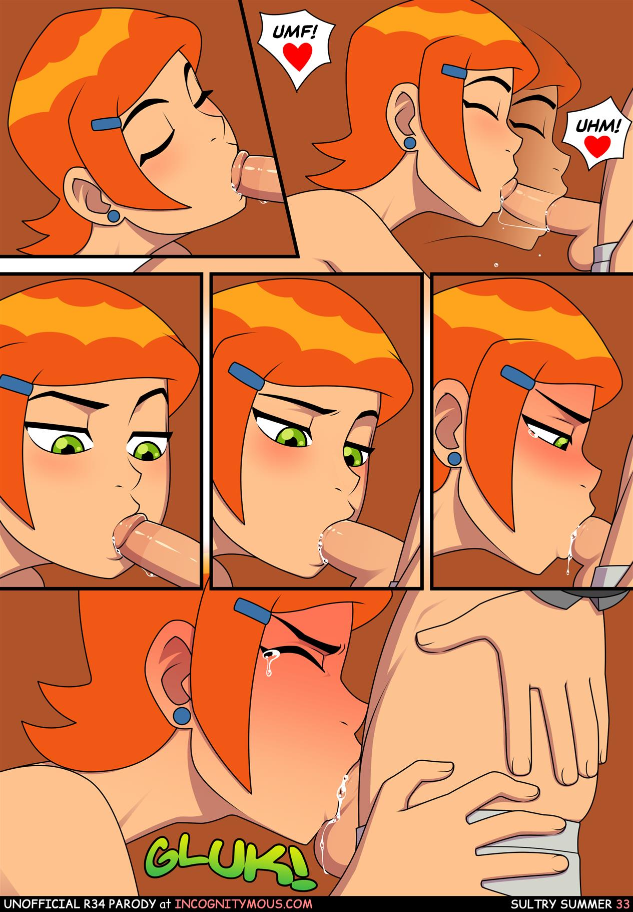 Ben 10 Porn Comic Sultry Summer