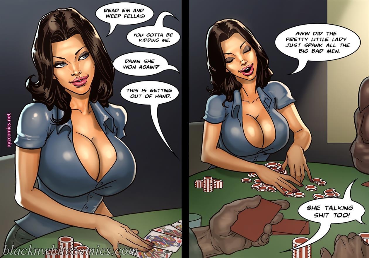 The Poker Game 2 [BlackNwhite]