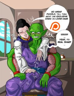 Chi-Chi x Piccolo (Dragon Ball Z) [Loonyjams] [Ongoing]