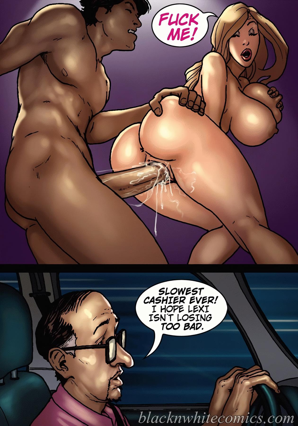 Порно комиксы жена изменила мужу