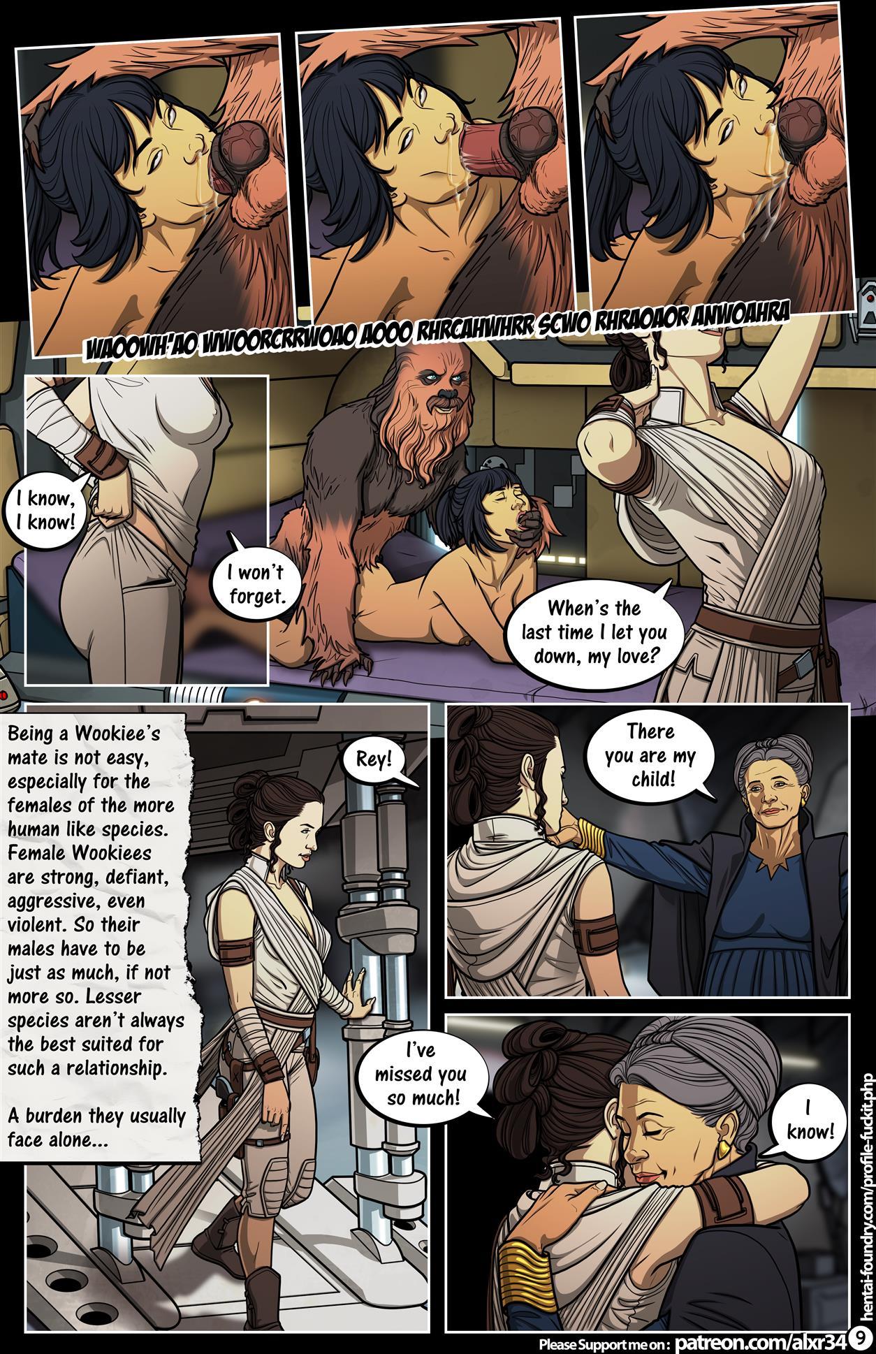 Comic star wars sex Star Wars