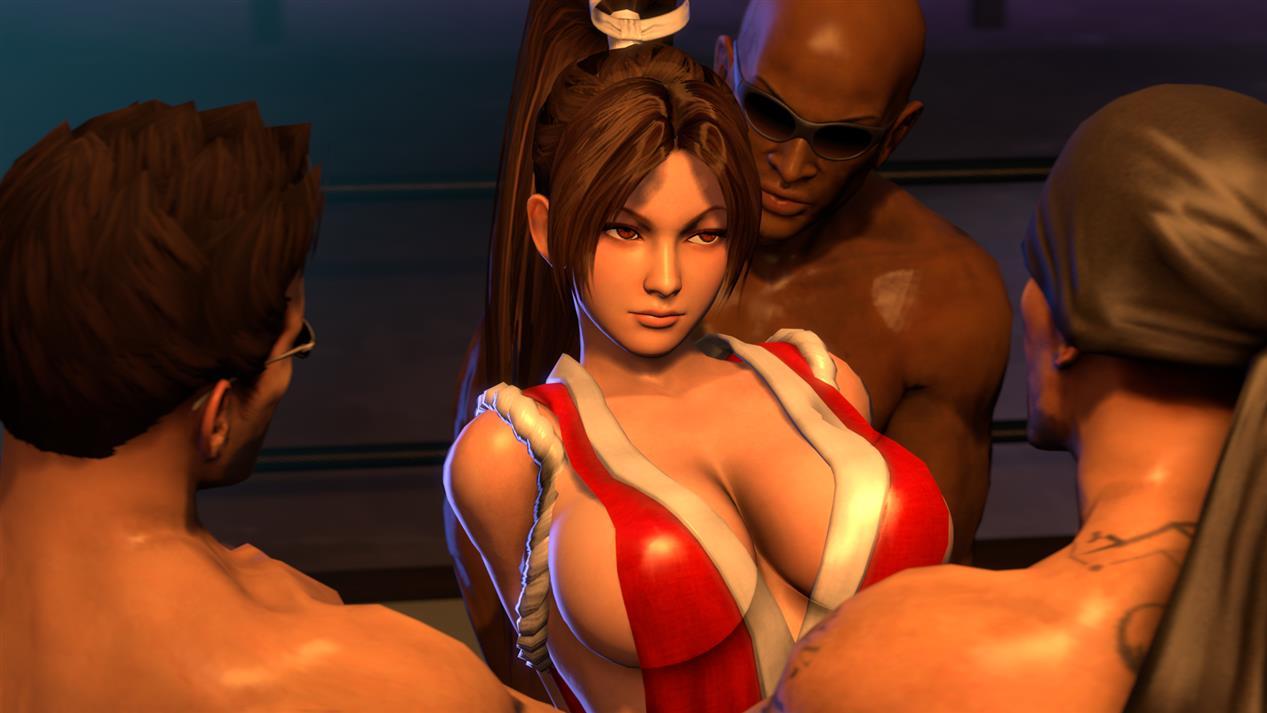 Mai Shiranui Gangbang (King of Fighters) [SFM]   Porn