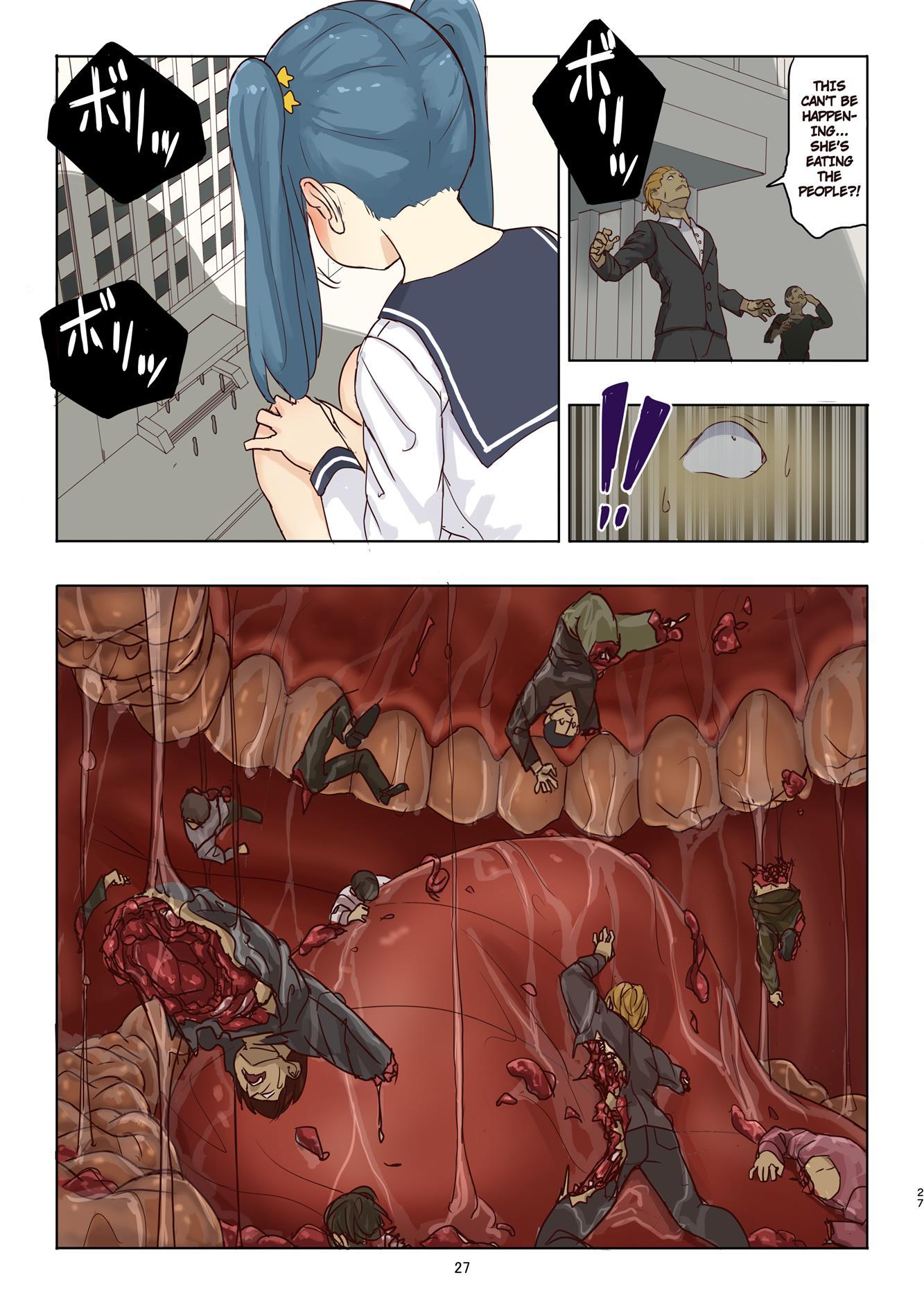Cruel Giantess Fondue-chan's Sexy Slaughter Time