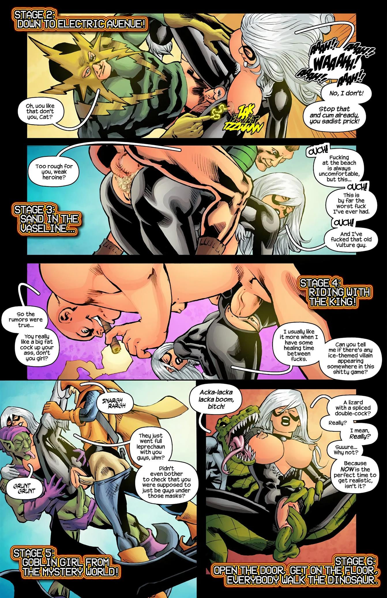 John Wolf – Spider-Man the '91 Arcade Video Game