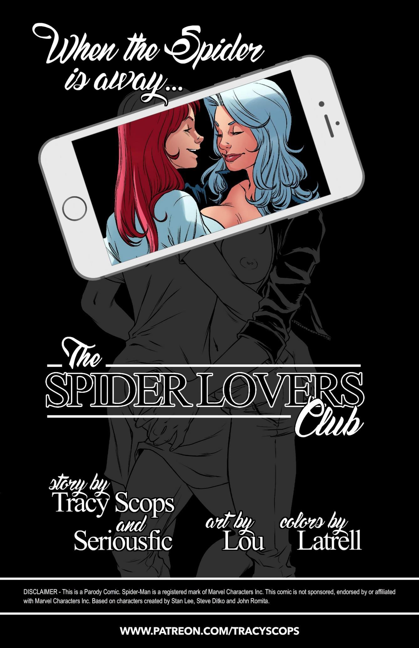 SPIDER LOVERS CLUB (Spider-man) [TracyScops]