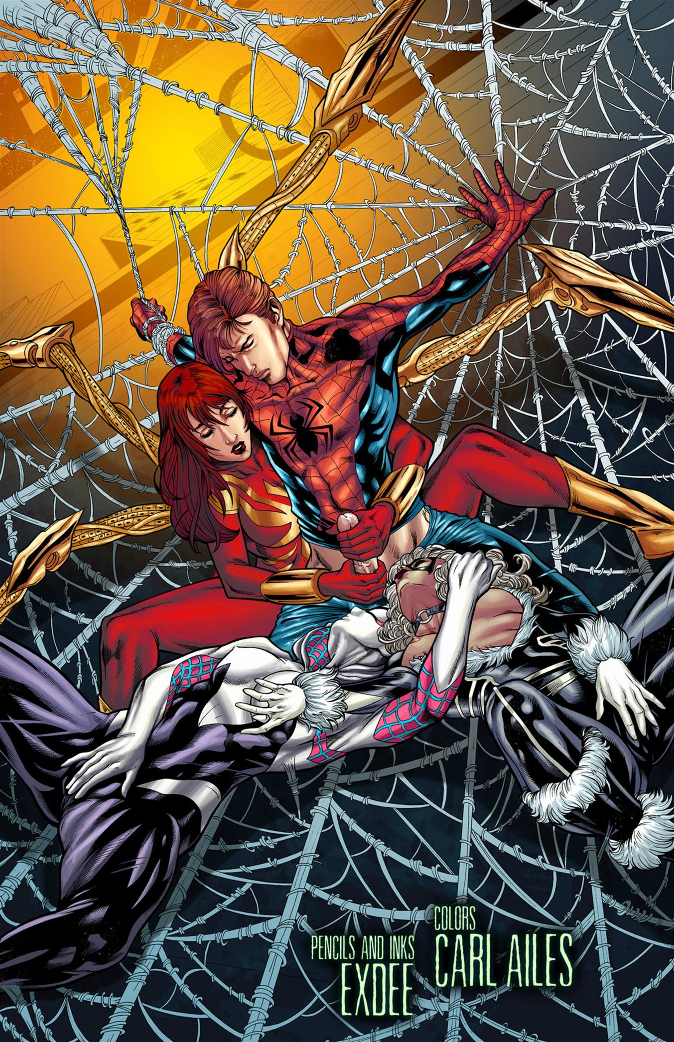 Trifecta (Spider-Man) [Tracy Scops]
