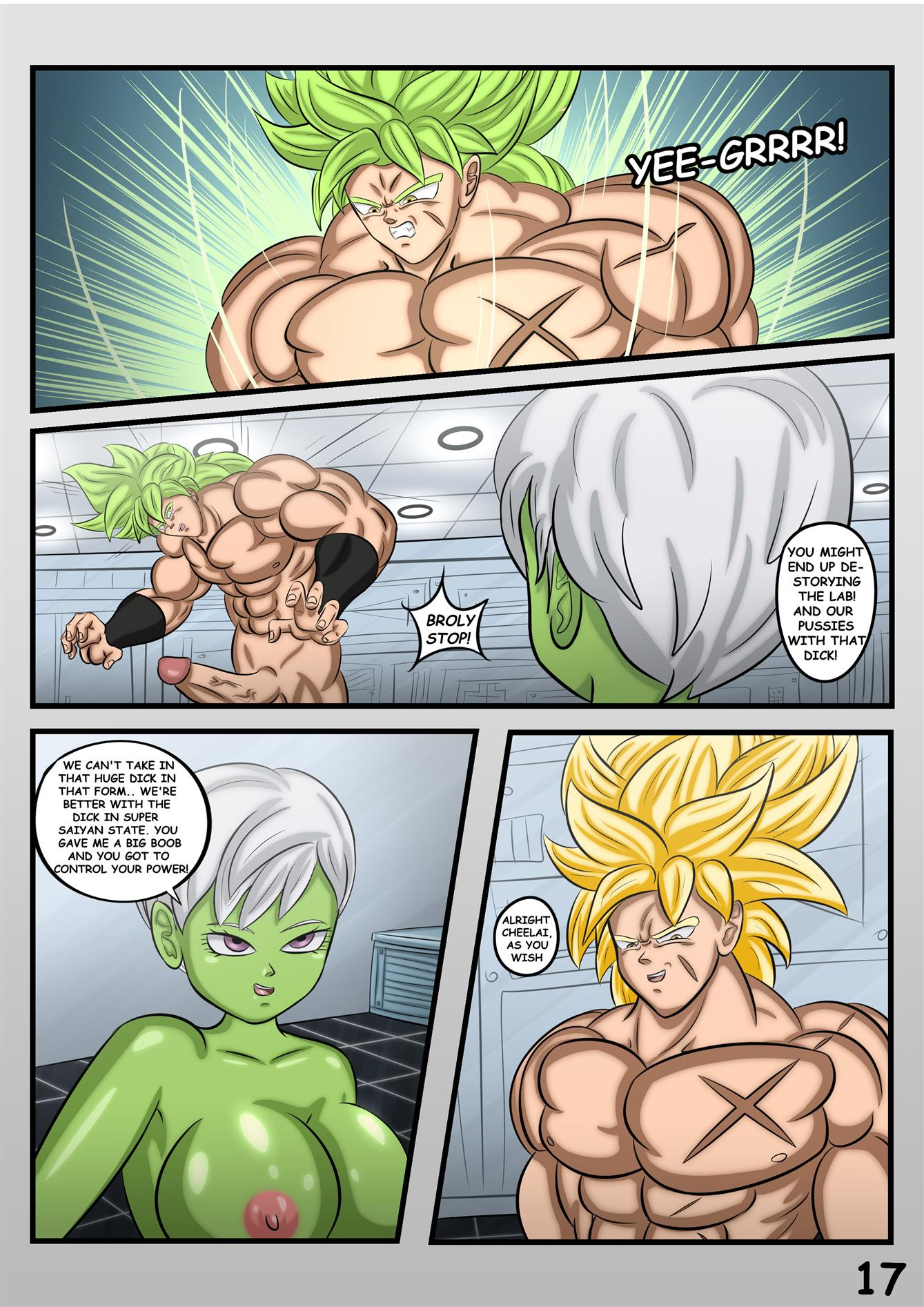 Cheelai's Desires (Dragon Ball Super)