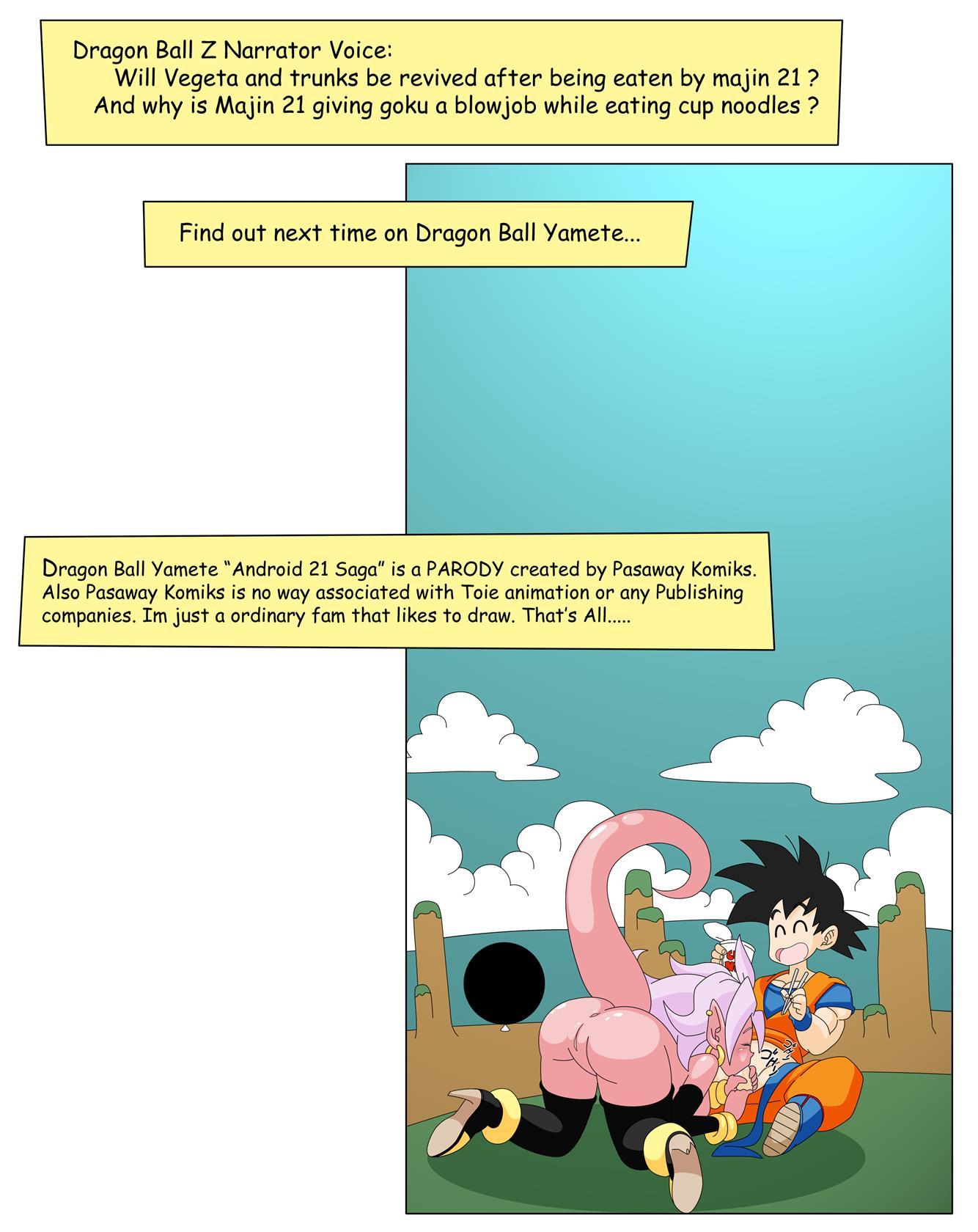 Dragon Ball Yamete: Android 21 Saga [Botbot]