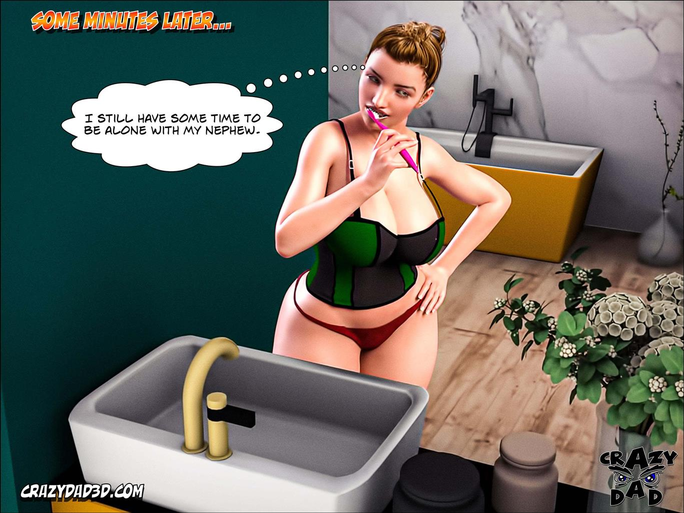 Father-in-Law at Home 17 [Crazy Dad 3D]