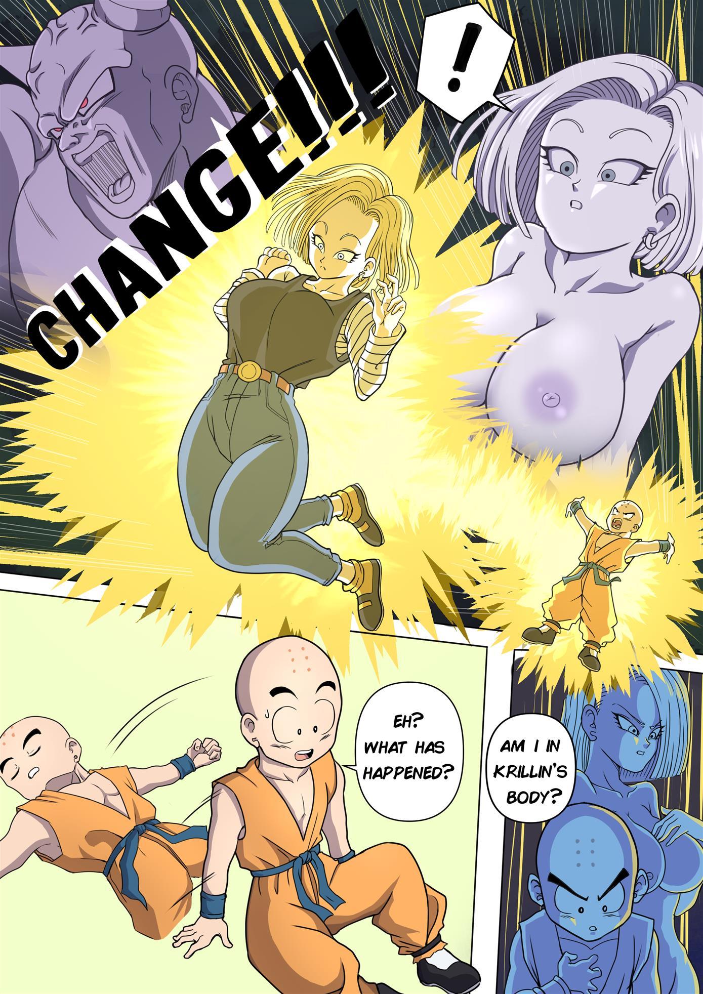 Body Change! (Dragon Ball Z) [TSFSingularity]